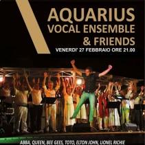 TEATRO METROPOLITANO ASTRA – Aquarius Vocal Ensemble in concerto – San Donà di Piave – 27 febbraio 2015